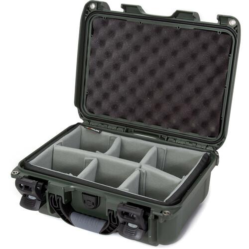 Nanuk 915 Hard Utility Case with Padded Divider Insert (Olive)
