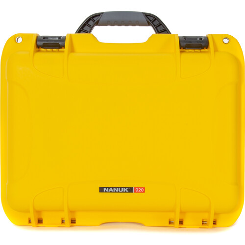 Nanuk 920 Series Case (Yellow, Empty)