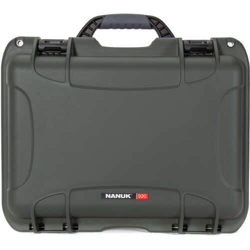 Nanuk 920 Series Case without Foam (Olive)