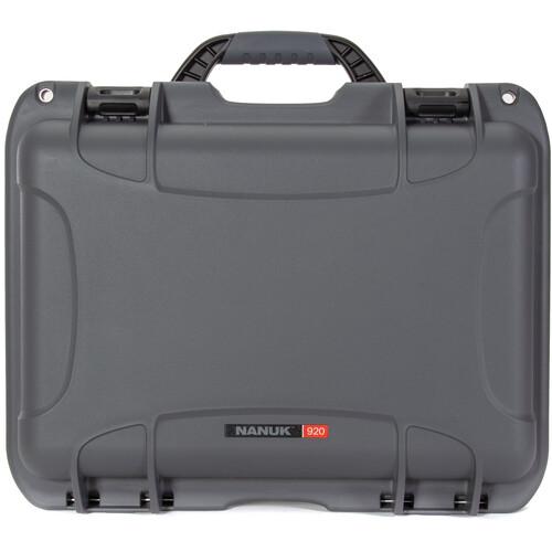 Nanuk 920 Hard Utility Case without Insert (Graphite)