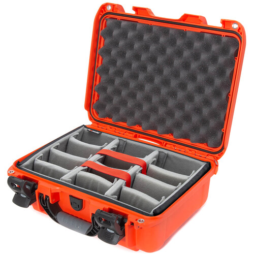Nanuk 920 Case with Padded Dividers (Orange)