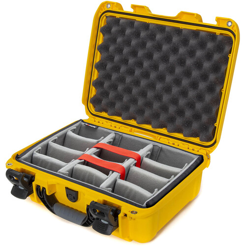 Nanuk 920 Hard Utility Case with Padded Divider Insert (Yellow)