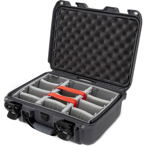 Nanuk 920 Case with Padded Dividers (Graphite)