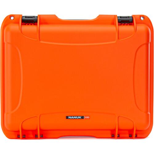 Nanuk 930 Large Series Case (Orange, Empty)
