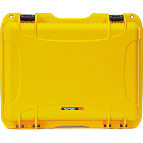 Nanuk 930 Large Series Case (Yellow, Empty)