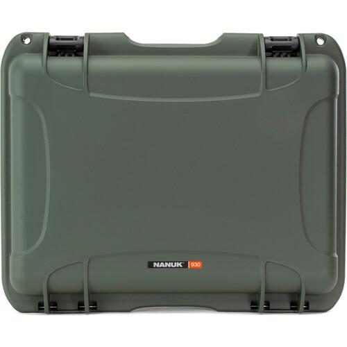 Nanuk 930 Large Series Case (Olive, Empty)