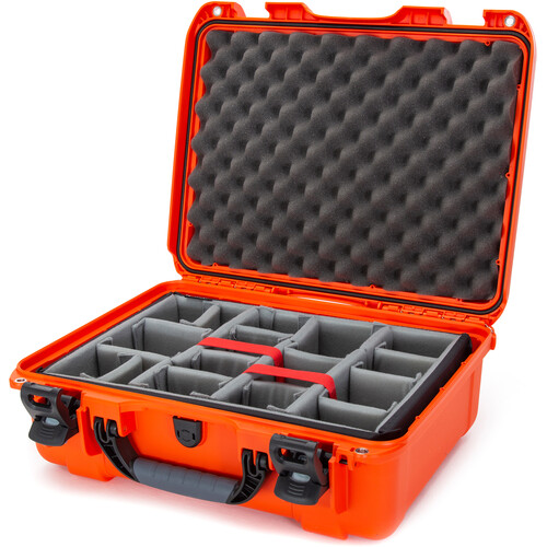Nanuk 930 Case with Padded Dividers (Orange)