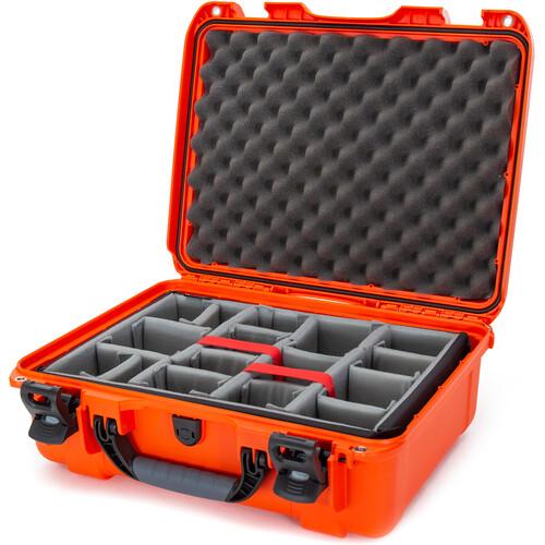 Nanuk 930 Case with Padded Dividers (Orange)