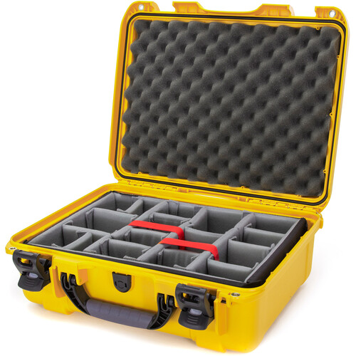 Nanuk 930 Case with Padded Dividers (Yellow)