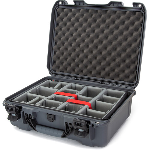 Nanuk 930 Case with Padded Dividers (Graphite)
