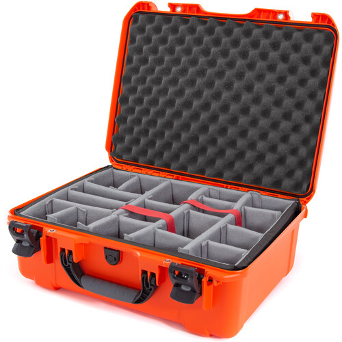 Nanuk 940 Case with Padded Dividers (Orange)