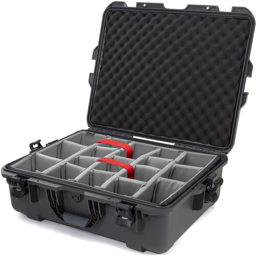 Nanuk 945 Case with Dividers (Graphite)
