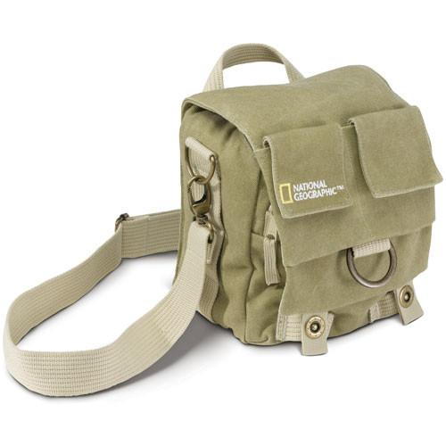 National Geographic NG 2343 Earth Explorer Small Shoulder Bag (Beige)