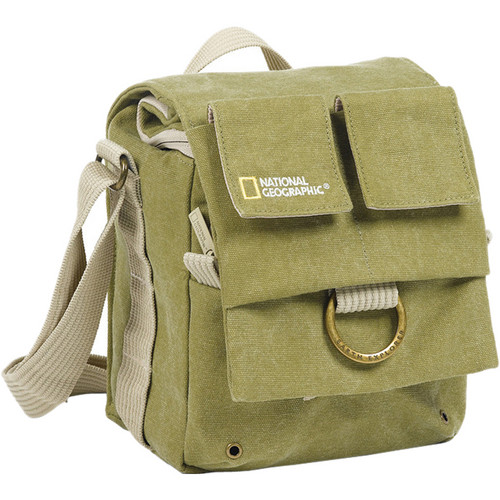 National Geographic Earth Explorer National Geographic 2344 Small Shoulder Bag (Khaki)