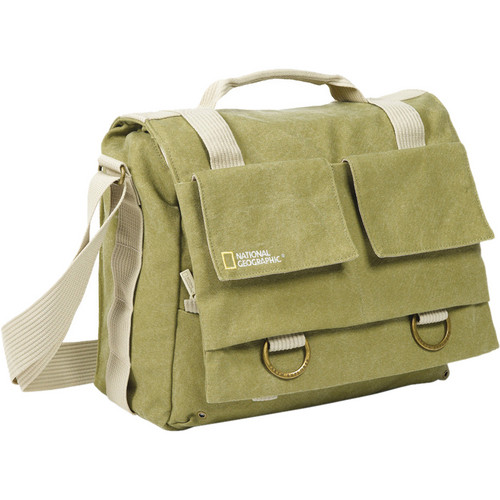 National Geographic Earth Explorer National Geographic 2476 Medium Messenger Bag (Khaki)