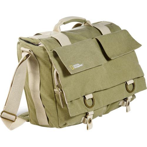 National Geographic NG 2477 Earth Explorer Large Shoulder Bag (Beige)