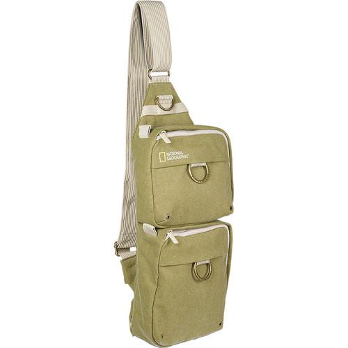 National Geographic Earth Explorer National Geographic 4475 Sling Bag (Khaki)