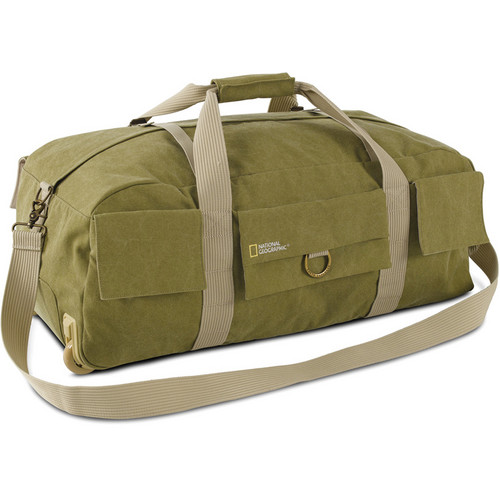 National Geographic Earth Explorer National Geographic 6130 Rolling Duffel Bag (Khaki)