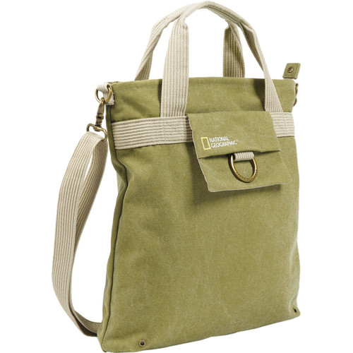 National Geographic NG 8110 Tote Bag for Mirrorless Camera and 2 Lenses (Beige)