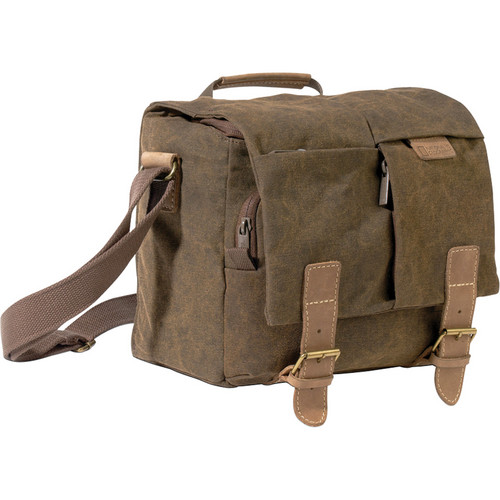 National Geographic NG A2540 Africa Series Midi Satchel (Brown)