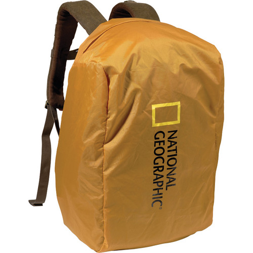 National Geographic A7200 Rain Cape for Rucksacks and Backpacks (Yellow)