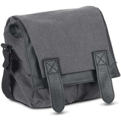 National Geographic NG W2141 Walkabout Midi Satchel for Personal Gear (Gray)