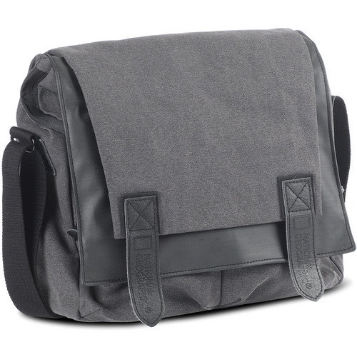 National Geographic NG W2400 Walkabout Slender Messenger Bag (Gray)
