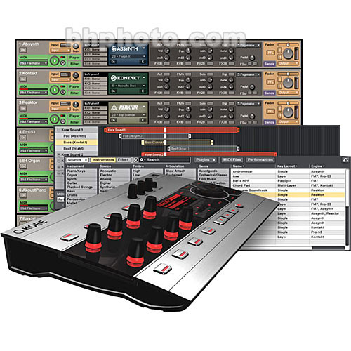 Native Instruments KORE Host Software and Control Surface/Audio Interface
