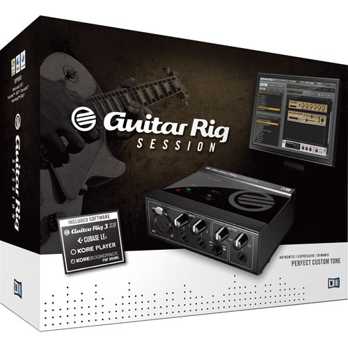 Native Instruments GUITAR RIG SESSION - Recording Suite for Guitar, Bass and Vocals