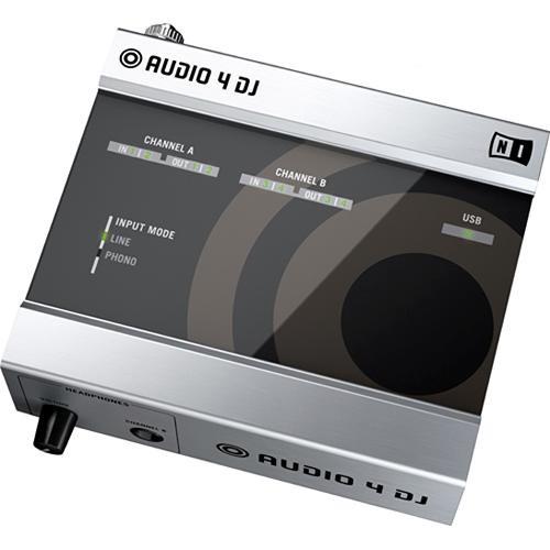 native instruments audio 4 dj 4 input 4 output usb 17999 b h. Black Bedroom Furniture Sets. Home Design Ideas