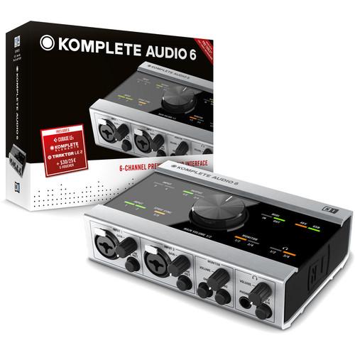 Native Instruments KOMPLETE AUDIO 6 - USB 2.0 Digital Audio Interface