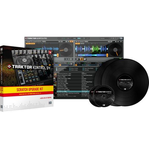 Native Instruments TRAKTOR SCRATCH PRO 2 - DJ Software (Certified Mixer Upgrade)