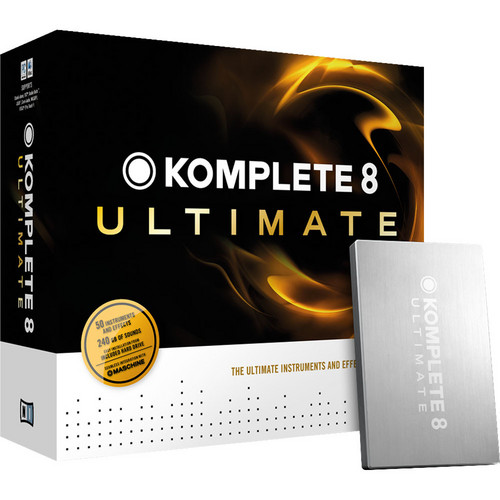 Native Instruments KOMPLETE 8 Ultimate - Virtual Instruments and Effects Collection