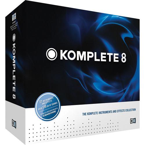 Native Instruments KOMPLETE 8 - Educational Institution 5-Station Lab Pack