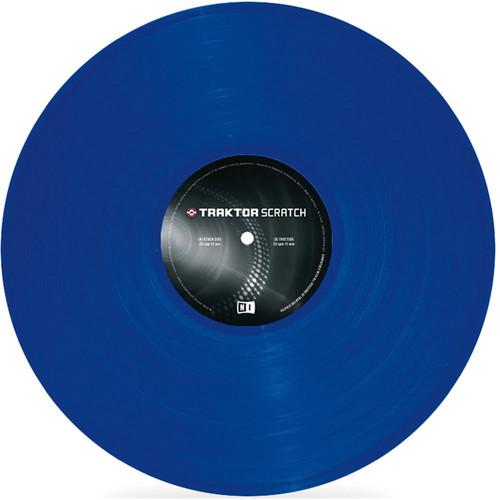 Native Instruments TRAKTOR Scratch Control Vinyl Mark 2 (Blue)