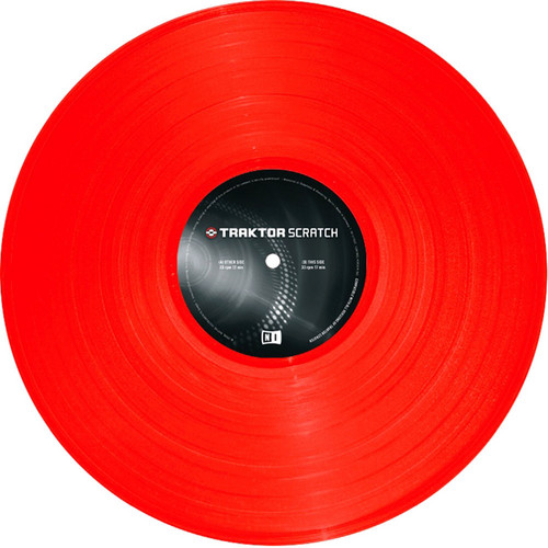 Native Instruments TRAKTOR Scratch Control Vinyl Mark 2 (Red)
