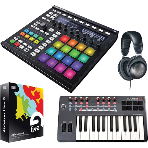 Native Instruments MASCHINE MK2 Groove Production Studio Kit (Black)