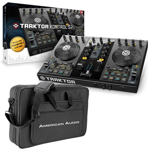 Native Instruments Traktor Control S2 2.1 DJ Controller & Carry Bag (B&H Kit)