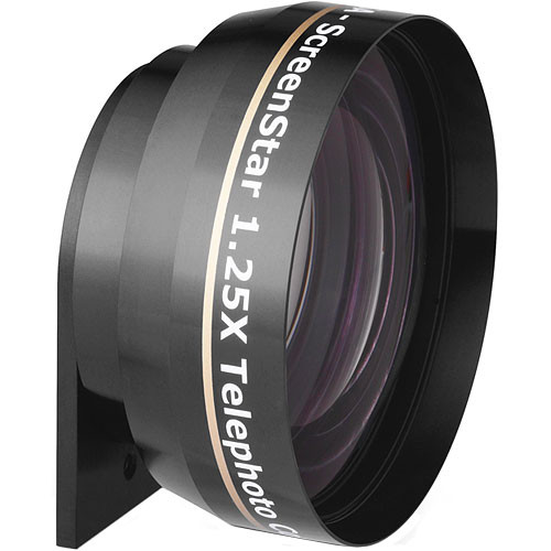 """Navitar 1.25X Mini ScreenStar Telephoto Conversion Lens for Multimedia Projectors with a panel size of 0.7"""" or smaller"""
