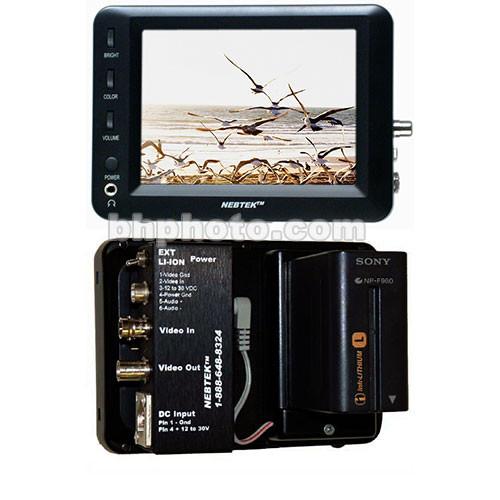 """Nebtek NEB50PROLI  5"""" LCD Monitor"""