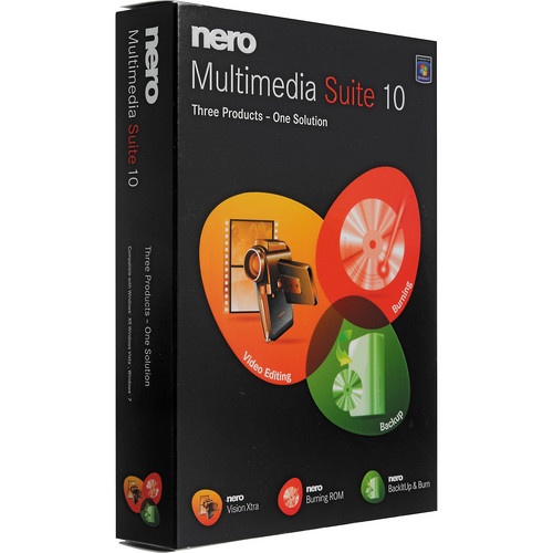 Nero Nero Multimedia Suite 10 - 3-in-1 Multimedia Suite