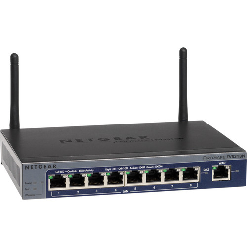 Netgear Prosafe Wireless 8-Port Gigabit VPN Firewall Router