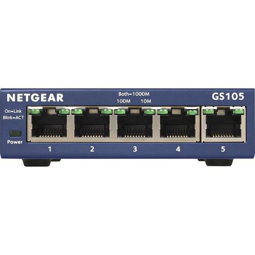 Netgear ProSafe 5-Port Gigabit Desktop Switch