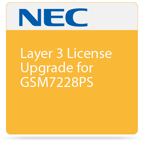 Netgear Layer 3 License Upgrade for GSM7228PS