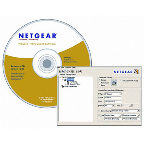 Netgear VPN05L ProSafe VPN Client Software (Five-User License)