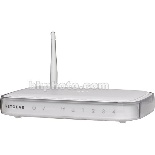 Netgear 54 Mbps Wireless Router - 802.11b/g