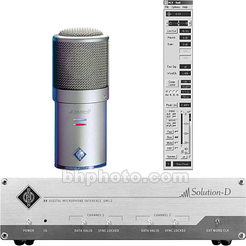 Neumann Solution D - Studio Microphone with 96kHz A/D Converter (Stereo Pair)