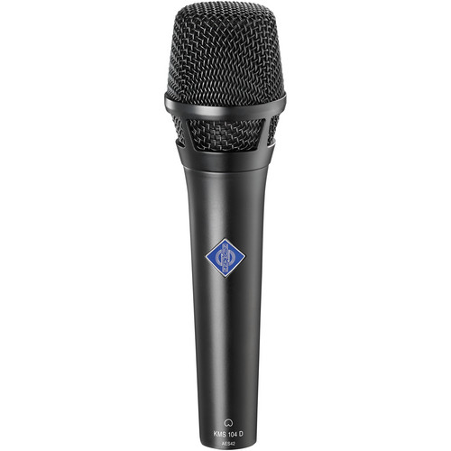 Neumann KMS104D - Digital Handheld Stage Microphone (Black)