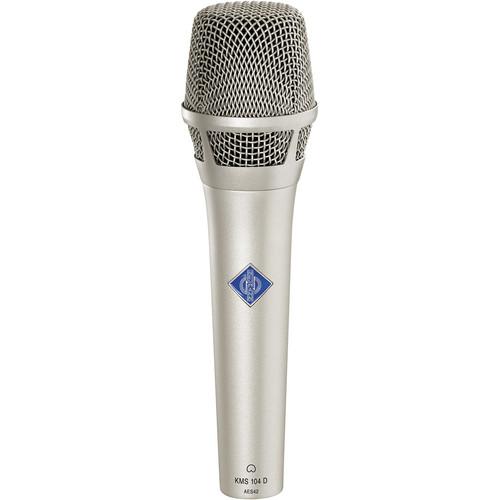 Neumann KMS104D - Digital Handheld Stage Microphone (Nickel)
