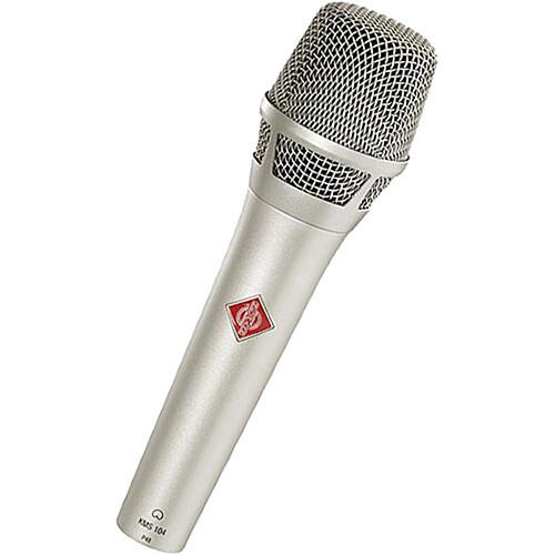 Neumann KMS104 - Handheld Stage Mic (Nickel)